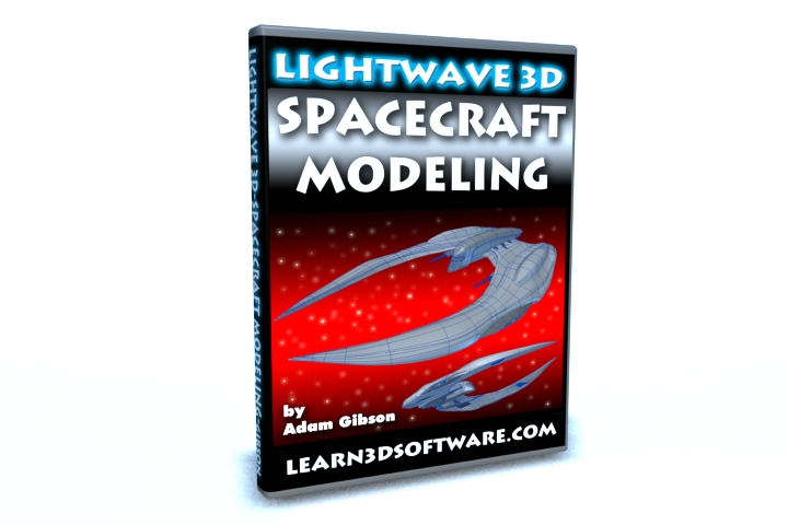 LightWave3D Spacecraft Modeling by Adam Gibson